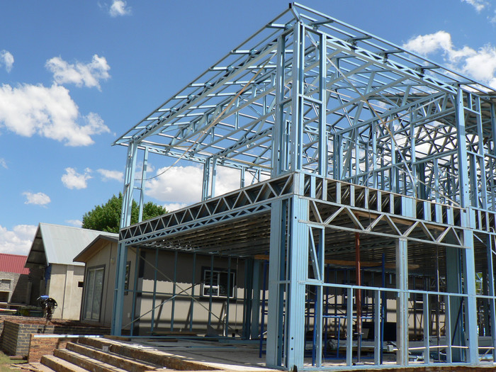 Steel Frame Work : Why use steel frames in buildings esl tool